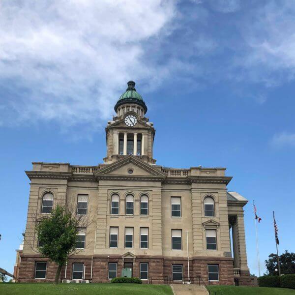 Winneshiek County Courthouse Decorah Iowa